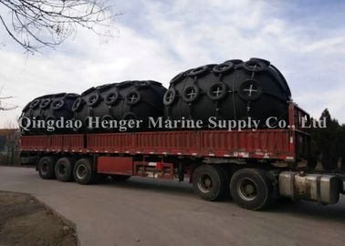Military Ports Wharfs Protective Pneumatic Marine Fender With Lower Mooring Forces