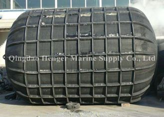 Durable 1880D2 Cord Fabric Ribbed Pneumatic Fenders for Navy Boat Fenders