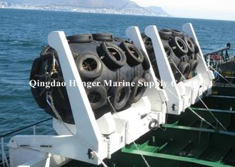 Ship To Quay Pneumatic Rubber Fender Ageing Resistance With Aircraft Tyre