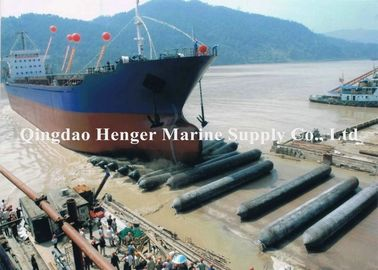 Marine Salvage Ship Launching Airbags 0.5-2.5m Diameter For Weight Lifting