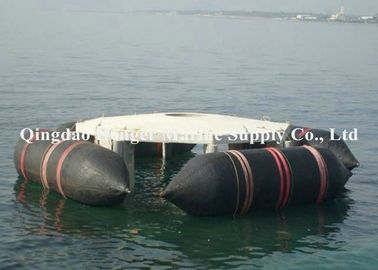 Durable Inflatable Marine Airbags , High Kneading Boat Recovery Airbags