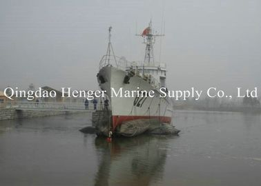 Rubber Balloons Marine Salvage Airbags 0.05-0.4Mpa Pressure For Port Construction