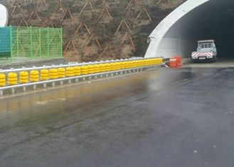 Anti Crash Safety Roller Barrier Road Spinning Barrier Highway Guardrail