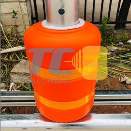 Anti Shock Diameter 370mm Spacing 0.5m Safety Roller Barrier