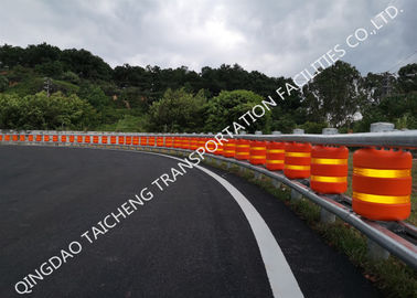 Anti Shock Highway Safety Roller Barrier Absorb Impact Force To Reduce Damage